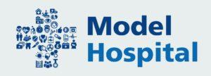 Model hospital logo
